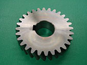 After gear cutting of cylindrical gears