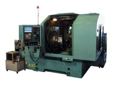 Photo of the proprietary CBN gear grinding machine of bevel gears