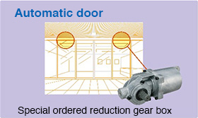 Special ordered reduction gearbox