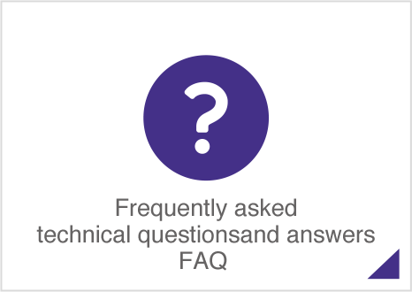 FAQFrequently asked technical questions and answers